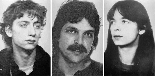 Garweg, Staub ja Klette 1980-luvulla. Kukaan ei teidä miltä he tänään näyttävät.