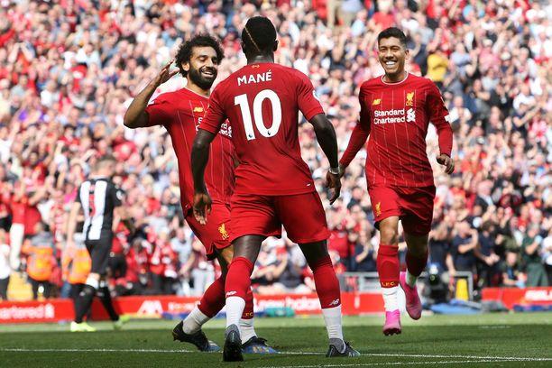 Juhliiko Liverpool tänään?