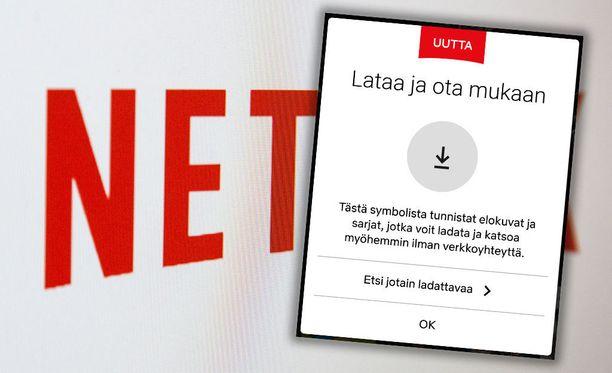 Netflix tarjoaa fiksua latausta Android-laitteilla.