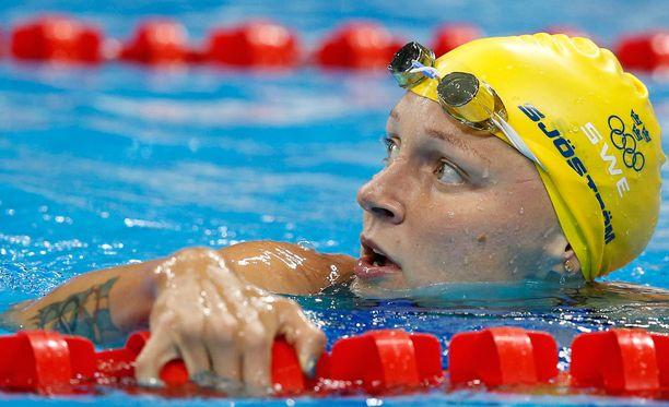 Sarah Sjöström keräsi ihailua muutenkin kuin saavutustensa vuoksi.