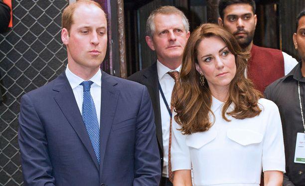 Prinssi Williamin ja herttuatar Catherinen valtiovierailusta on menossa toinen päivä.