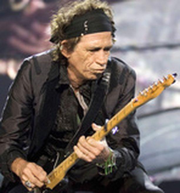 Keith Richardsin kiipeily sai nolon lopun.