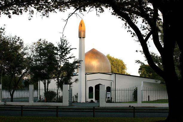 Al Noorin moskeijan sijaitsee aivan Christchurchin keskustassa.