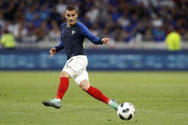 Ranskan Antoine Griezmann on saanut median pidättämään hengitystään.