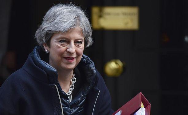 Theresa May tapaa muiden EU-maiden johtajat Brysselissä torstaina.