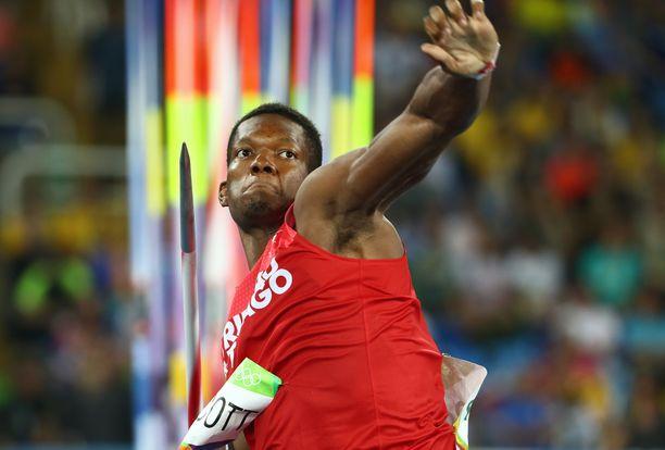 Kaksinkertainen olympiamitalisti Keshorn Walcott nähdään juhannuksena Kuortaneella.