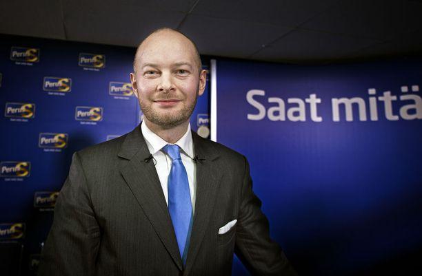 Entinen perussuomalainen Sampo Terho on nyt uuden puolueen Sinisen tulevaisuuden puheenjohtaja.