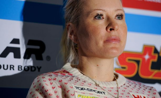 Riitta-Liisa Roponen on Suomen toivo tiistain kympillä.