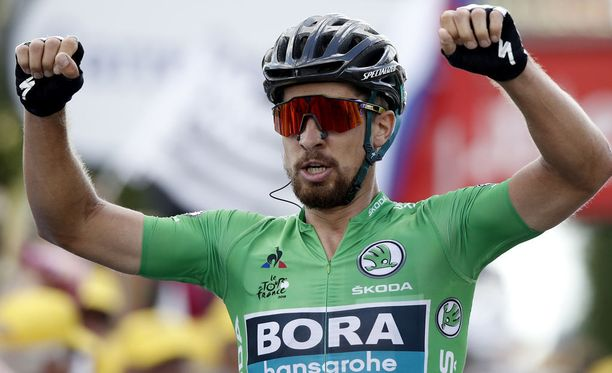 Peter Sagan on pyöräillyt erinomaisesti Ranskan ympäriajossa.