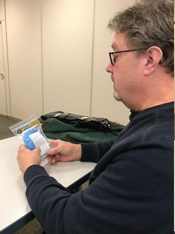 Kurt Shovestul aikoo kantaa elvytyspakettia aina taskussaan, sillä tarve tehdä jotakin heräsi, kun hänen hyvä ystävänsä kuoli yliannostukseen.