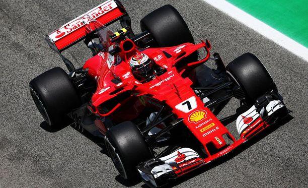 Kimi Räikkönen oli kolmansien harjoitusten nopein.