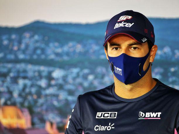 Sergio Perez lähtee hyvistä asetelmista huomiseen kisaan.