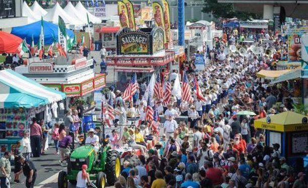 Ohion tivolia on järjestetty vuodesta 1850 lähtien.