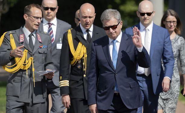 Sauli Niinistö avasi sunnuntaina kuudennet Kultaranta-keskustelut.