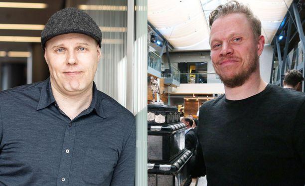 Aki Linnanahde ottaa takapuoleensa Kärppien logon, vaikka Lasse Kukkonen toivoi muuta.