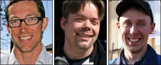 Janne, Jani ja Antti etsivät itselleen morsiamia.