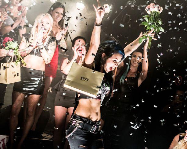 Miss Rock 2013 tuuletti voittoaan asiaan kuuluvan railakkaasti.