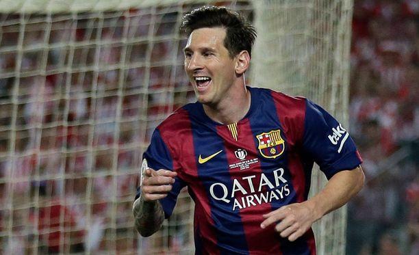 Leo Messi osui kahdesti Espanjan cupin loppuottelussa.