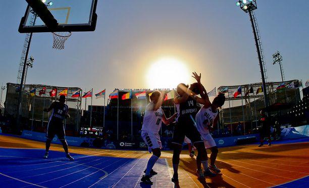 Tokiossa pelataan vuonna 2020 katukoriksen olympiamitaleista.