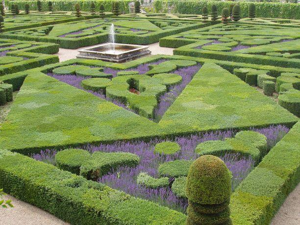 Chateau de Villandryn puutarha