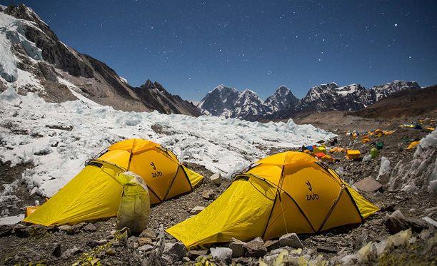 Mount Everestin perusleiri on ensimmäinen etappi matkalla maailman korkeimmalle vuorelle.