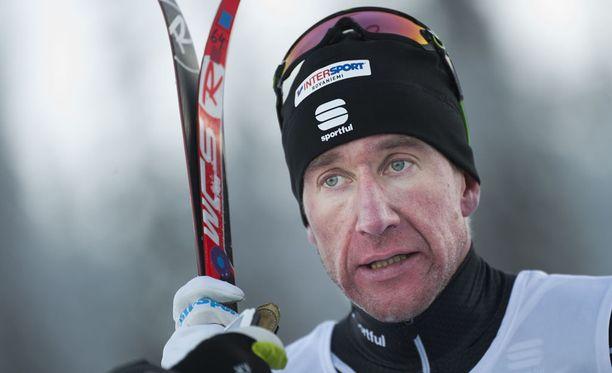 Tero Similä, 37, vapautui kilpailukiellostaan keväällä 2016. Lauantaina hän kilpaili Muoniossa.
