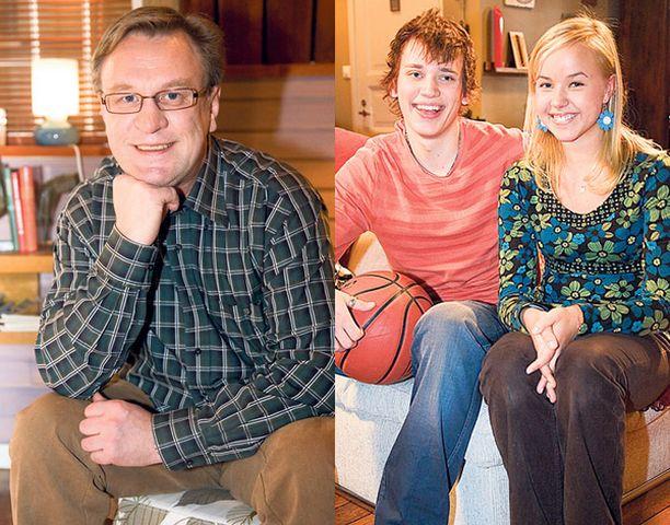 KONKARI JA UUDET KASVOT. Esko Kovero on viihtynyt sarjassa sen alusta alkaen. Sampsa Tuomala ja Sara Säkkinen tulevat uusina kasvoina ruutuun toukokuun jaksoissa.