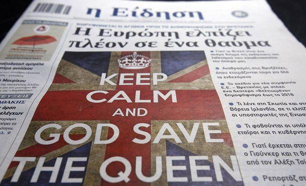Muuallakin Euroopassa seurataan henkeä pidätellen miten Brexit-äänestyksessä käy.