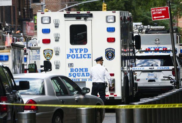 Poliisioperaatiota on ollut eri puolilla New Yorkia.