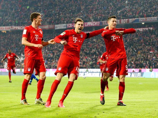 Bayern-pelaajien uskotaan juhlivan tänään, kun Bundesliiga palaa tauolta.
