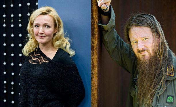 Mari Perankoski ja Jouni Hynynen ovat nyt aviopari.