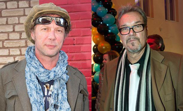 Näyttelijät Antti Reini ja Juha Veijonen eivät tahkonneet hirmutiliä viime vuonna.