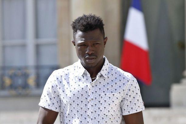 Mamoudou Gassama pelasti pikkulapsen parvekkeelta toukokuussa.