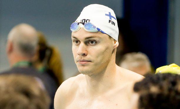 Ari-Pekka Liukkonen on asettanut tavoitteekseen olympiakullan.
