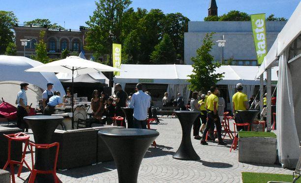 Taste of Helsinki järjestettiin seitsemänä vuonna.