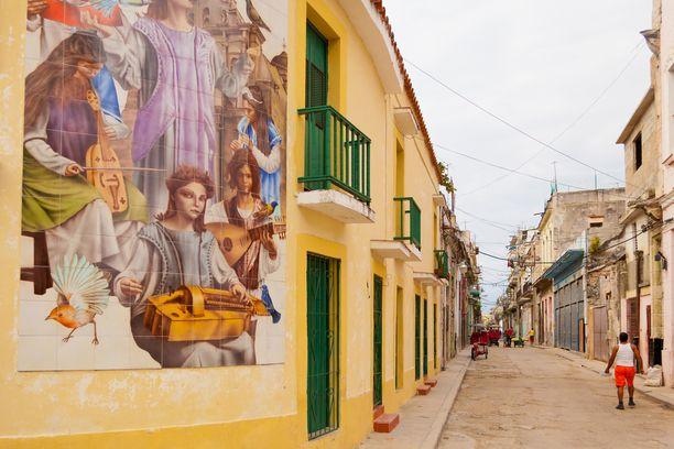 Havannan kaduilla on tunnelmaa.