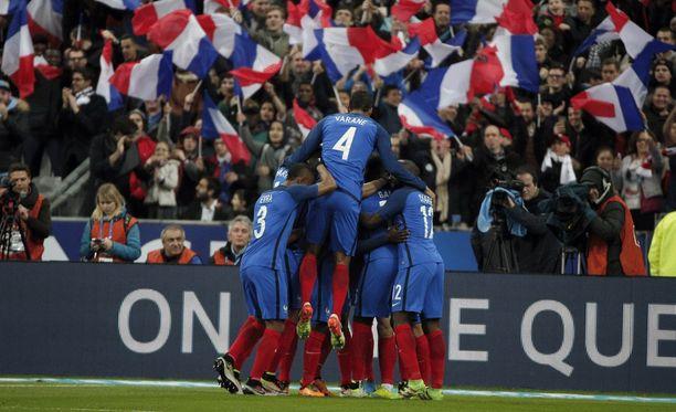 Ranska nappasi tunteikkaan voiton Venäjästä.