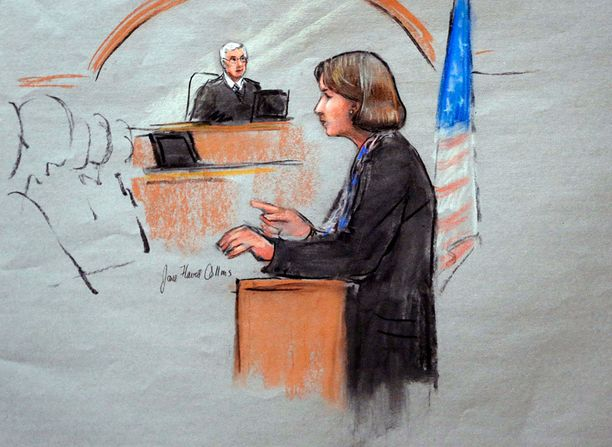 Terrori-iskusta epäillyn miehen asianajaja Judy Clarke myönsi heti kättelyssä päämiehensä syyllisyyden.