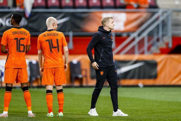 Hollanti lähtee jahtaamaan EM-menestystä ilman Donny van de Beekiä.