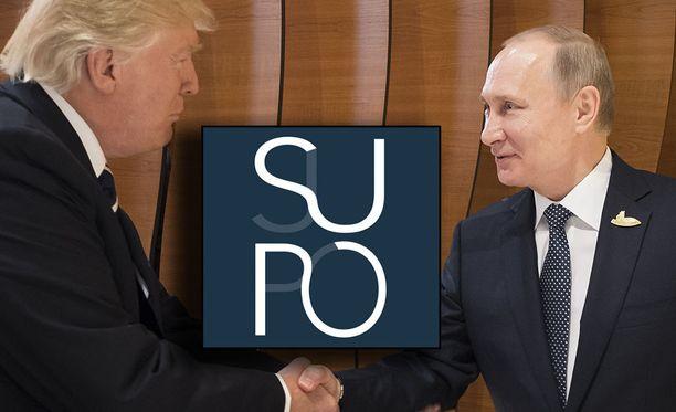 Suojelupoliisi turvaa Trumpin ja Putinin tapaamista.