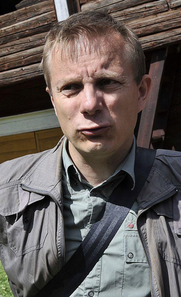 Tuottaja Jarkko Hentula.