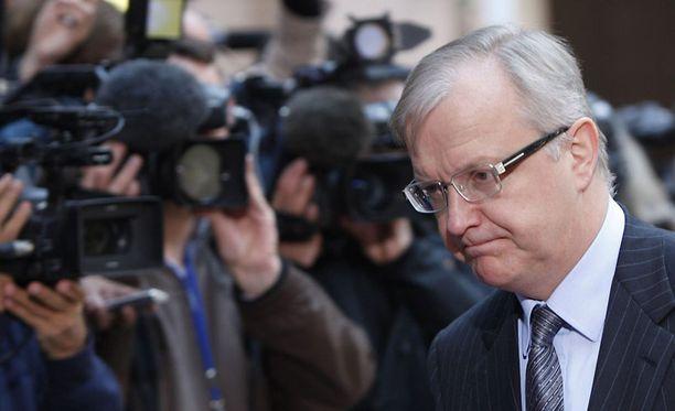 Olli Rehn vaatii Kreikkaa kantamaan oman vastuunsa.