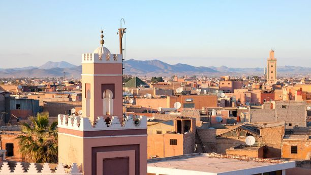 Historiallinen Marrakesh on hyvä valinta Marokon-matkan kohteeksi.