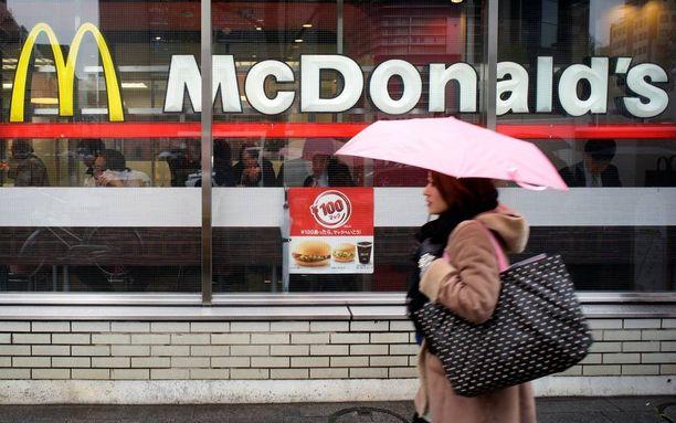 McDonald'sin Big Mac -hampurilaisia on tarjolla lähes joka puolella maailmaa.