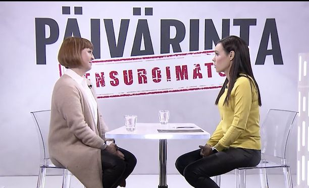 Erikoistoimittaja Susanne Päivärinta haastatteli Meksikon lentoturman myötä loukkaantunutta Ulrika Björkstamia.