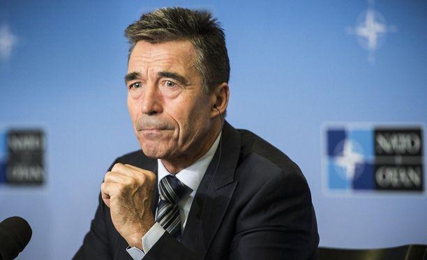 Naton entinen pääsihteeri Anders Fogh Rasmussen sanoo, että kaasuputki on Putinin poliittinen hanke.