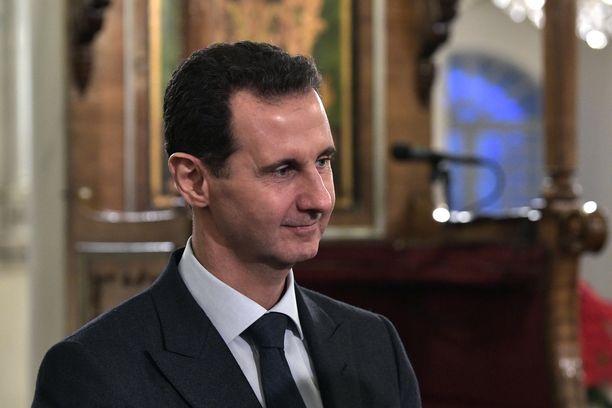 Syyrian hallinto taistelee kapinallisia vastaan. Kuvassa maan presidentti Bashar al-Assad.