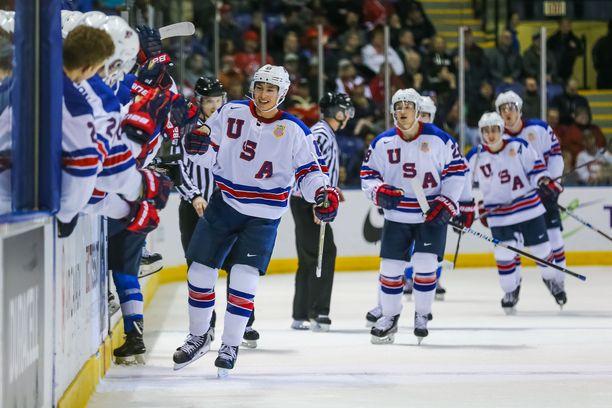 USA juhli Suomen kustannuksella lohkovaiheen päätöspelissä.