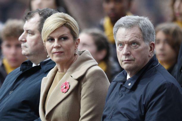 Presidentti Sauli Niinistö tapasi lukuisia valtiojohtajia.