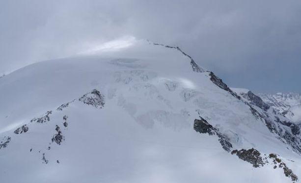Sveitsin Alpeilla on vallinnut huono sää viime päivien aikana.